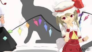 getlinkyoutube.com-【MMD】きめフラで\(・ω・\)SAN値!(/・ω・)/ピンチ!【テスト動画】