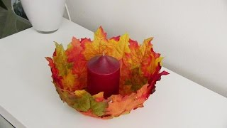 getlinkyoutube.com-Tazon de Hojas (Leaf Bowl)