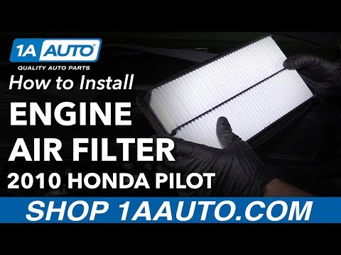 How to Replace Engine Air Filter 09-15 Honda Pilot