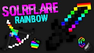getlinkyoutube.com-Minecraft PvP Texture Pack: RAINBOW PACK - LAG FREE - Solrflare's Pack