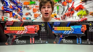 getlinkyoutube.com-Nerf Rival Artemis XVII-3000 Blaster! (Unboxing and Review)