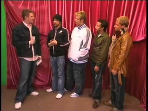 Backstreet Boys Interview Part 1 - Interview by ECG Productions Jason Sirotin