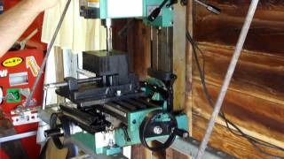 getlinkyoutube.com-grizzly mini mill milling HDPE for motor mount