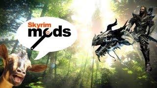 getlinkyoutube.com-Tropical Dinosaurs vs Screaming Goats - Top 5 Skyrim Mods of the Week