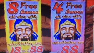 getlinkyoutube.com-Jackpot Live★Lucky88 2c Slot Machine Bet $6, Big Win Dragon's Law Twin Fever MaxBet Barona Casino