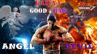 getlinkyoutube.com-Tekken 7 Theory: Kazuya Good & Evil Sides (Angel & Devil) Explaination