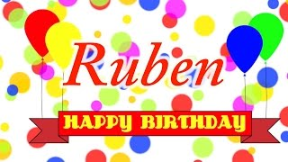 getlinkyoutube.com-Happy Birthday Ruben Song