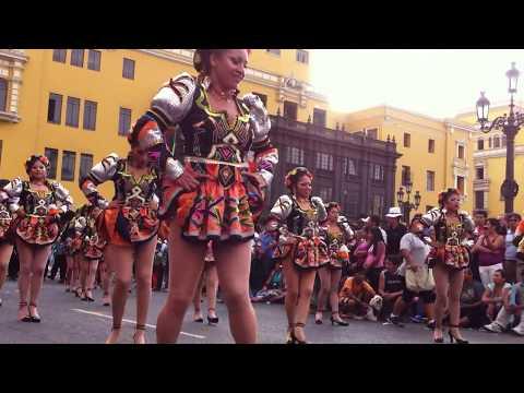 Baile sensual caporal 100% peruano