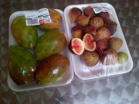 Buah Tin Shauky prickly pear