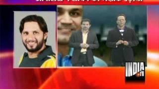 getlinkyoutube.com-Shahid Afridi Jokes on Sachin Tendulkar - India TV