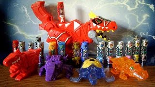 getlinkyoutube.com-Dino Charger Power Packs [Part 4] + T-Rex Morpher Review (Power Rangers Dino Super Charge Toys)