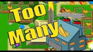 getlinkyoutube.com-Too Many Banana Farms!? - Bloons TD Battles Moab Pit