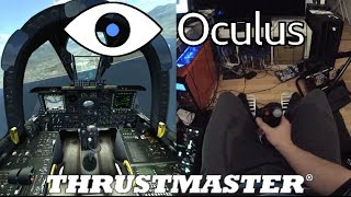 getlinkyoutube.com-✈️ DCS A-10C - Oculus Rift DK2 - Thrustmaster Warthog