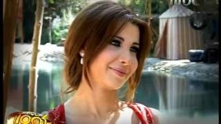 getlinkyoutube.com-Nancy Ajram - Interview Behind The Scenes Of Sheikh El Shabab Scoop