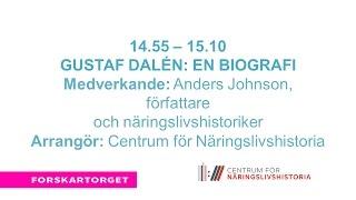 Forskartorget2016 - Gustaf Dalén En biografi
