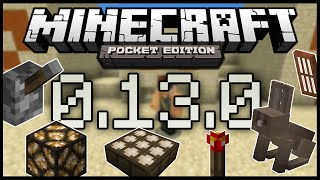 getlinkyoutube.com-Minecraft PE 0.13.0 Build 1 | Revisado + Seed con Templo de Desierto