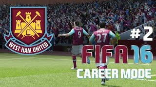 FIFA 16: West Ham United - Career Mode - Episode #2: PRESS CONFERENCE! (FACECAM)