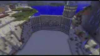 getlinkyoutube.com-Minecraft Dam - Timelapse