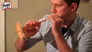 getlinkyoutube.com-Knutsel een trompet - Pritt