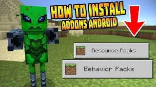 getlinkyoutube.com-HOW TO INSTALL ADDONS in MCPE 0.16.0!!! - Android Only - Minecraft PE (Pocket Edition)