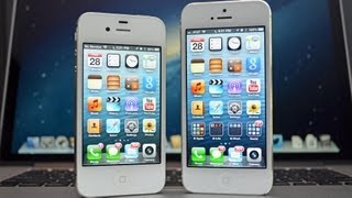 getlinkyoutube.com-Apple iPhone 5 vs 4S: Speed and Gaming Performance