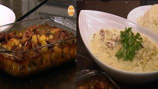 أرانب بالليمون - صينية سمبوسك بحشو البيتزا - صدور دجاج بالخرشوف     الشيف حلقة كاملة