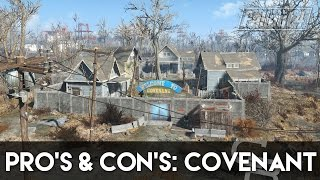 getlinkyoutube.com-Fallout 4 - Pros & Cons: Covenant (Fallout 4 Settlement Review)
