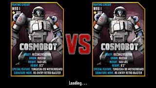 getlinkyoutube.com-Real Steel WRB Championship Cosmobot VS Cosmobot NEW UPDATE