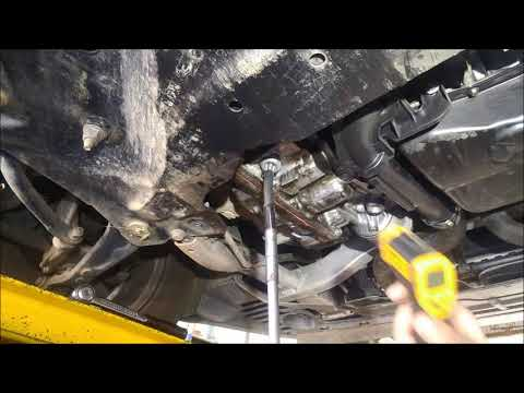 TF80SC 6 Speed Automatic Transmission Service Fluid Change How To