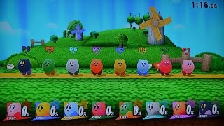 getlinkyoutube.com-[Super Smash Bros. for Wii U Glitch Tutorial] How to controll 8 players with one controller