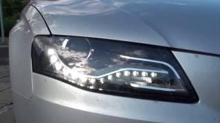 getlinkyoutube.com-Change or remove headlights on a Audi A4 b8