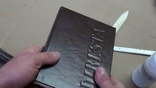 getlinkyoutube.com-✔ DiResta Sketch Book Binding