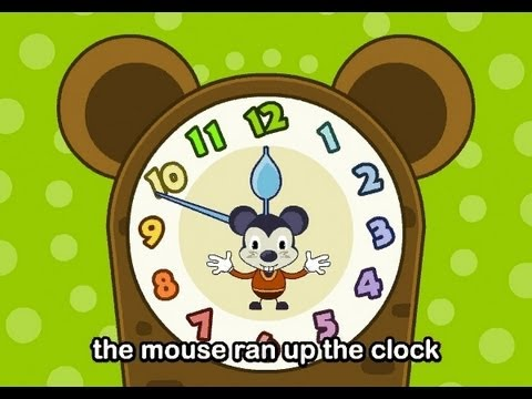 Hickory Dickory Dock   | nursery rhymes & children songs with lyrics | muffin songs