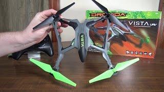 getlinkyoutube.com-Dromida - Vista UAV - Review and Flight