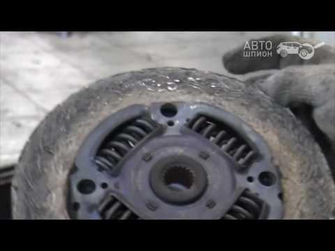 Mitsubishi Outlander замена сцепления и сайлентблоков редуктора