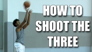 getlinkyoutube.com-How to shoot a basketball 3 point shot : Nick Young