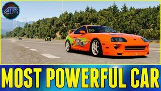 getlinkyoutube.com-Forza Horizon 2 : MOST POWERFUL CAR EVER!!! (Fast And Furious)
