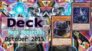 getlinkyoutube.com-Yu Gi Oh NEW Mega Monarchs anti meta Deck profile October 2015 Duels & Decklist