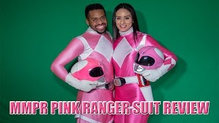 MMPR Pink Ranger Suit Review