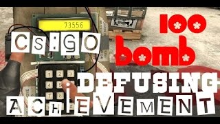 getlinkyoutube.com-CSGO 100 Bomb Defuse Achievements IDLE Server Maps#