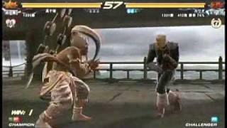 getlinkyoutube.com-Tekken 6 : Heihachi Mishima vs Steve Fox