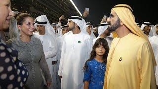 """getlinkyoutube.com-محمد بن راشد يشهد تتويج """"كاليفورينا كروم"""" بلقب كأس دبي العالمي"""