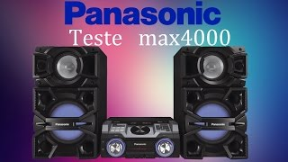 getlinkyoutube.com-Panasonic max4000, TEST...