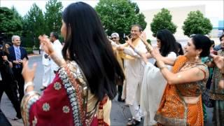 getlinkyoutube.com-Michigan Indian Wedding Video Highlights - Mobile Baraat, Ceremony, Reception w/ Uplights - DJ TIGER