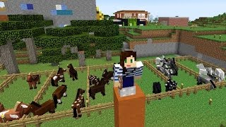 MINECRAFT HORSE CHALLENGE - THE CUBE (EP.28)