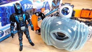 getlinkyoutube.com-バッチリミロー!スペクターに変身!DXスペクターゴーストアイコン レビュー!仮面ライダースペクター DXガンガンハンドに付属