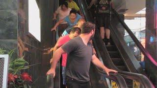 getlinkyoutube.com-Magic Escalator Prank
