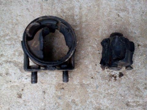 Где в Mazda 3 находятся подушки двигателя