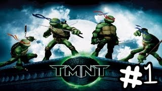 getlinkyoutube.com-Let's Play TMNT The Movie Game 2007 Walkthrough Part 1 [No Commentary] (HD)