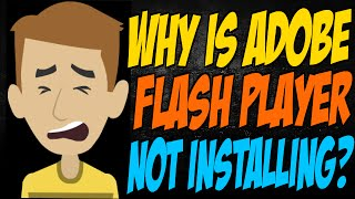 getlinkyoutube.com-Why is Adobe Flash Player Not Installing?